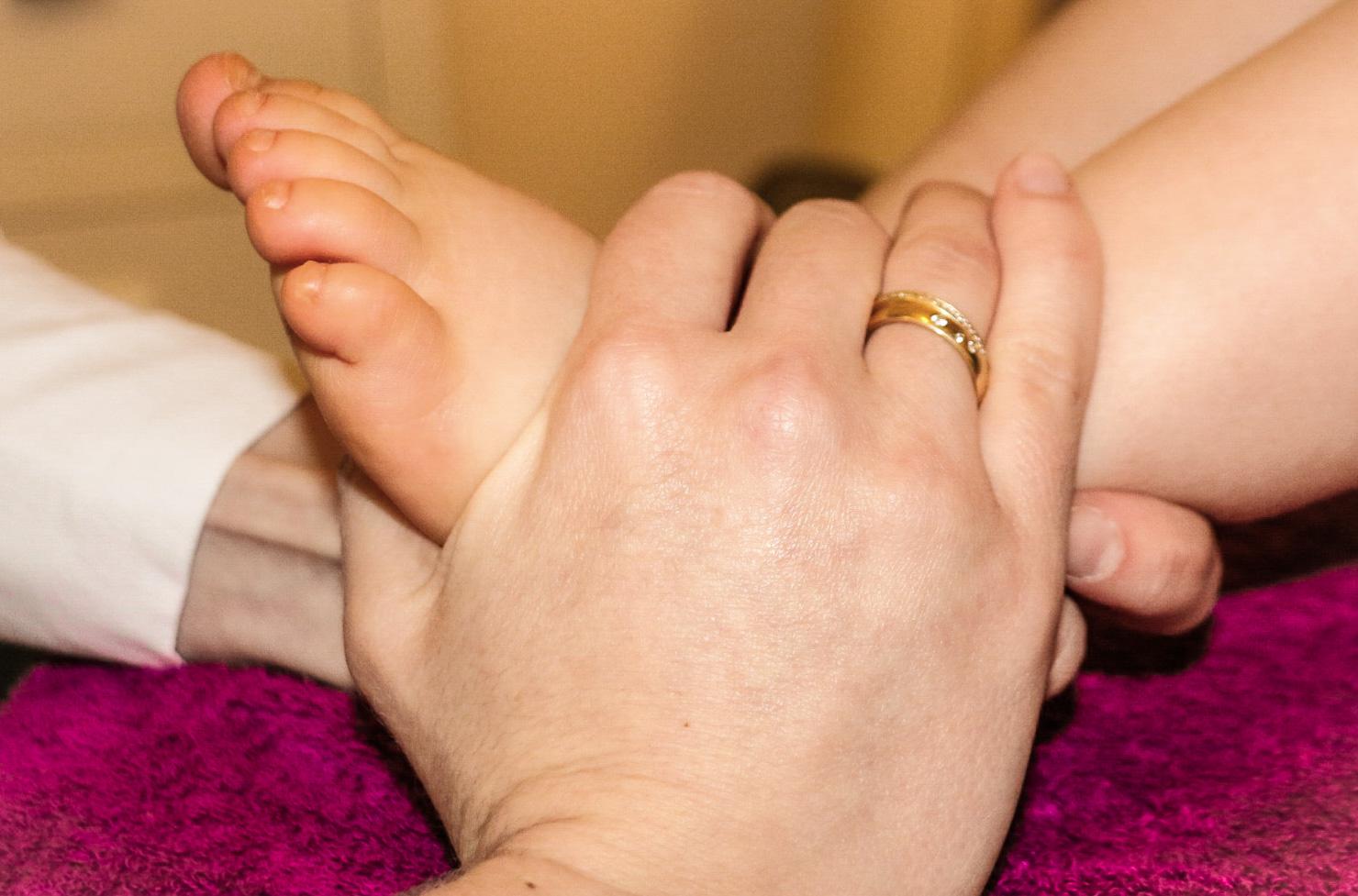 Osteopathie auch bei kleinen Kindern