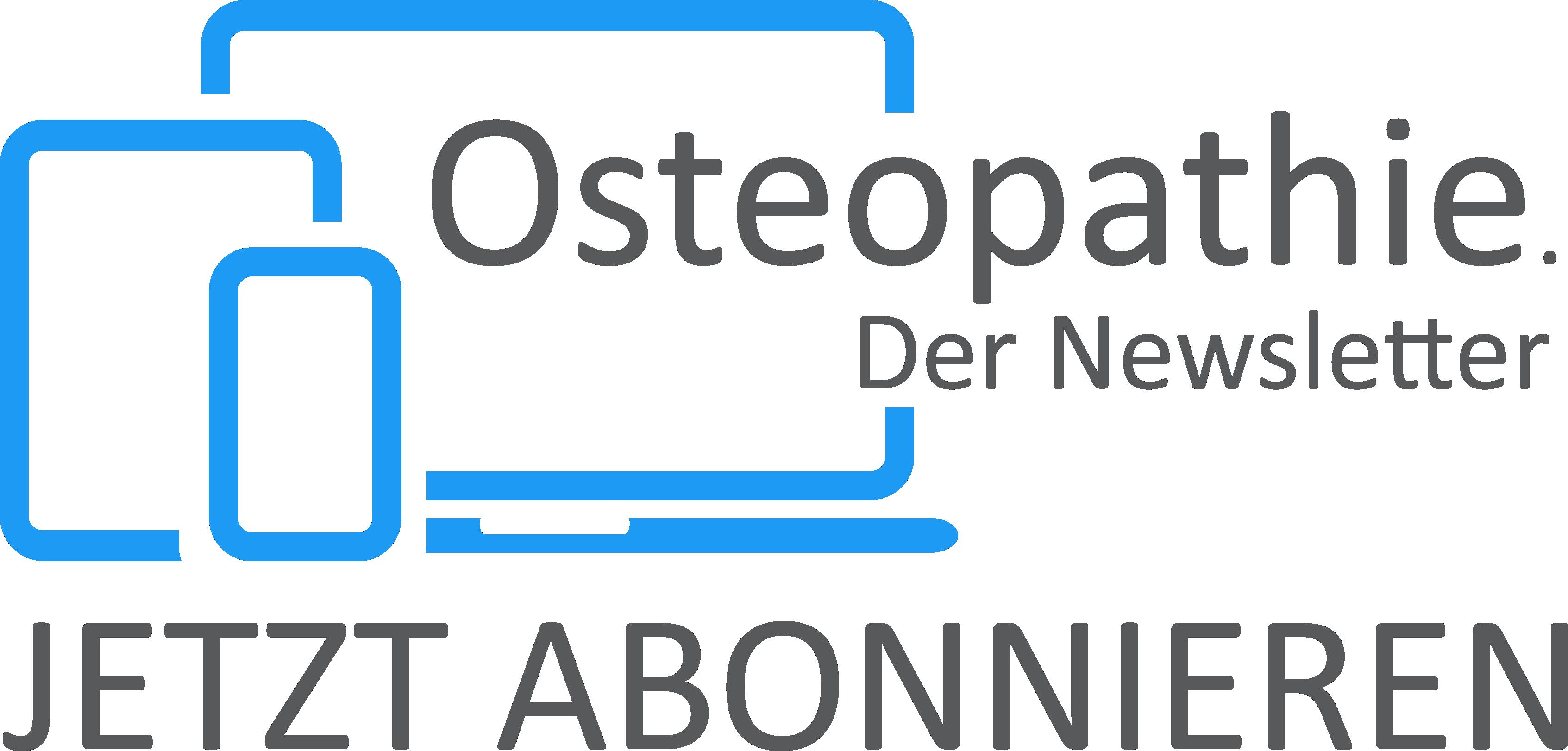 Link zum Osteopathie Newsletter